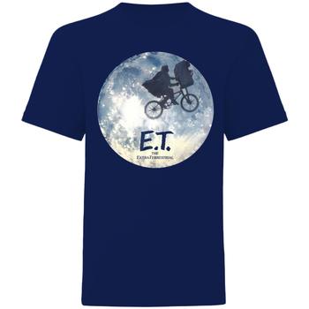 Textil T-Shirt mangas curtas E.t. The Extra-Terrestrial  Azul