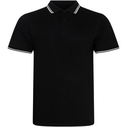 Textil Homem Polos mangas curta Awdis JP003 Preto/branco