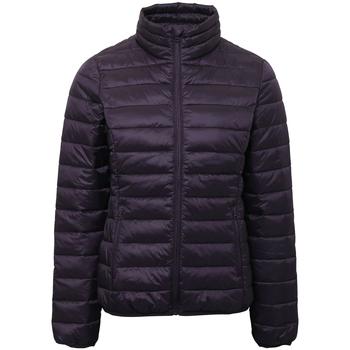 Textil Mulher Casacos  2786 TS30F Beringela