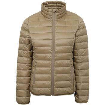 Textil Mulher Casacos  2786 TS30F Khaki