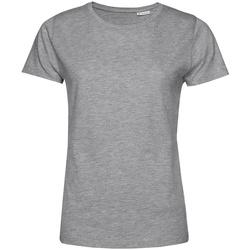 Textil Mulher T-Shirt mangas curtas B&c TW02B Cinza Heather