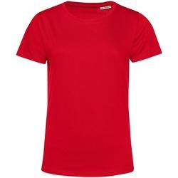 Textil Mulher T-Shirt mangas curtas B&c TW02B Vermelho