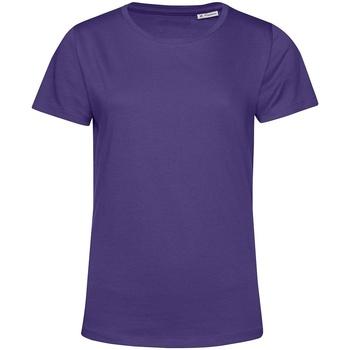 Textil Mulher T-Shirt mangas curtas B&c TW02B Púrpura Radiante