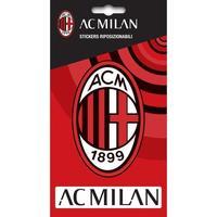 Casa Stickers Ac Milan Taille unique Vermelho