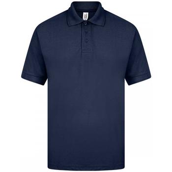 Textil Homem Polos mangas curta Casual Classics  Marinha