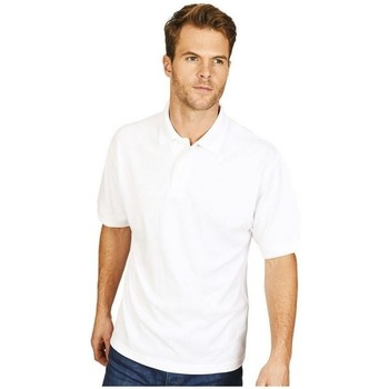 Textil Homem Polos mangas curta Casual Classics  Branco