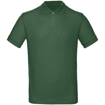 Textil Homem Polos mangas curta B And C PM430 Garrafa Verde