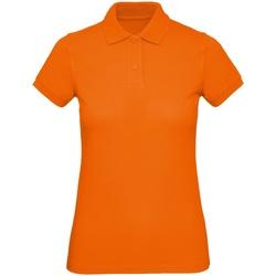 Textil Homem Polos mangas curta B And C PM430 Orange