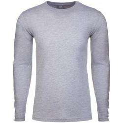 Textil Homem T-shirt mangas compridas Next Level NX3601 Cinza Heather