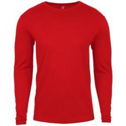 Textil Homem T-shirt mangas compridas Next Level NX3601 Vermelho