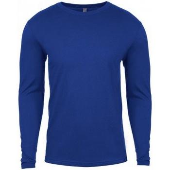 Textil Homem T-shirt mangas compridas Next Level NX3601 Royal Blue