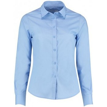 Textil Mulher camisas Kustom Kit K242 Azul claro