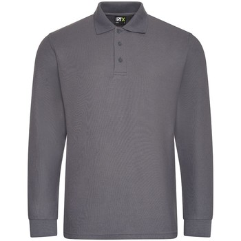 Textil Homem Polos mangas compridas Pro Rtx  Cinza sólido