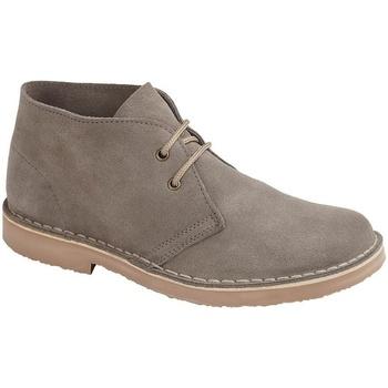 Sapatos Homem Botas baixas Roamers  Cinza