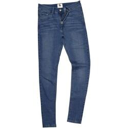 Textil Homem Calças Jeans Awdis SD04 Lavagem intermediária