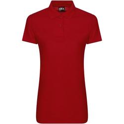 Textil Mulher Polos mangas curta Pro Rtx RX105F Vermelho