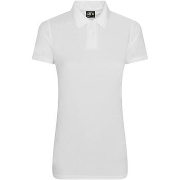 Textil Mulher Polos mangas curta Pro Rtx RX105F Branco