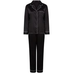 Textil Mulher Pijamas / Camisas de dormir Towel City TC55 Preto