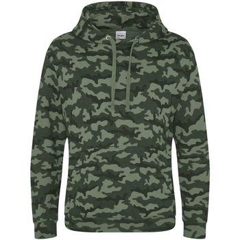 Textil Homem Sweats Awdis JH014 Camo Verde