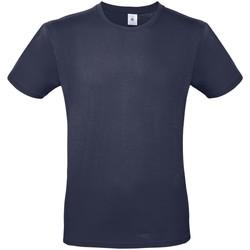 Textil Mulher T-Shirt mangas curtas B And C BA210 Azul-marinho