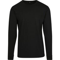 Textil Homem Sweats Build Your Brand BY091 Preto