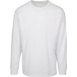 Textil Homem Sweats Build Your Brand BY091 Branco