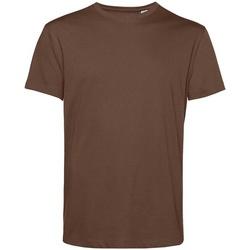 Textil Homem T-Shirt mangas curtas B&c BA212 Café