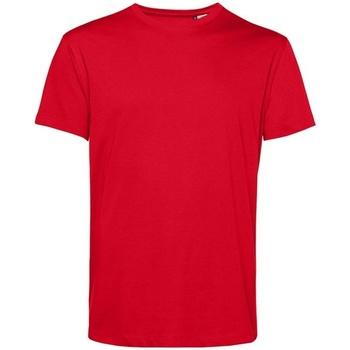 Textil Homem T-Shirt mangas curtas B&c BA212 Vermelho