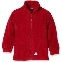 Textil Criança Casaco polar Result RS114B Vermelho