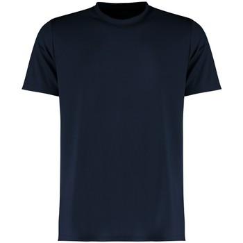 Textil Homem T-Shirt mangas curtas Kustom Kit KK555 Marinha