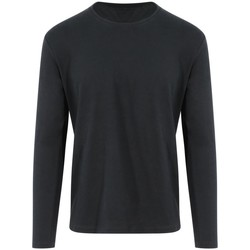 Textil T-shirt mangas compridas Awdis EA021 Jet Black