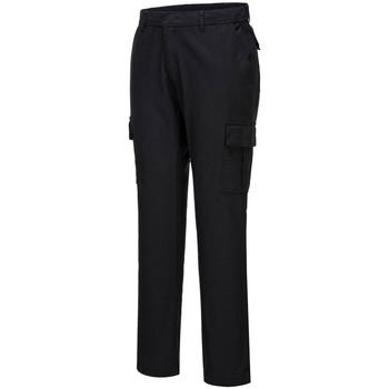Textil Homem Calça com bolsos Portwest PW363 Preto