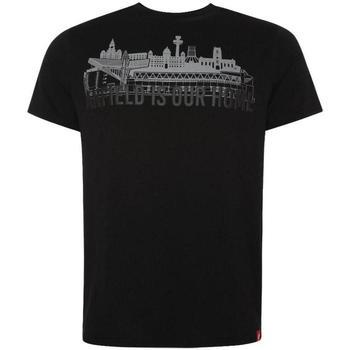 Textil Homem T-Shirt mangas curtas Liverpool Fc  Preto