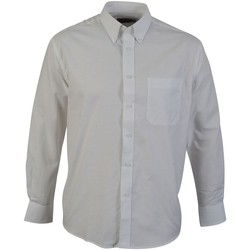 Textil Homem Camisas mangas comprida Absolute Apparel  Branco