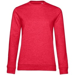 Textil Mulher Sweats B&c WW02W Heather Vermelha