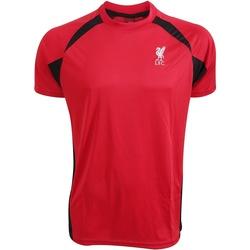 Textil T-Shirt mangas curtas Liverpool Fc  Vermelho/preto