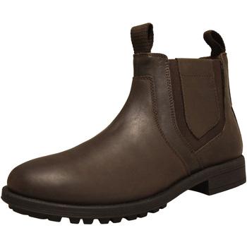 Sapatos Homem Botas Roamers  Marrom Escuro
