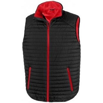 Textil Casacos  Result R239X Preto/Vermelho