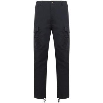 Textil Calça com bolsos Front Row FR625 Marinha