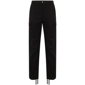 Textil Calça com bolsos Front Row FR625 Preto