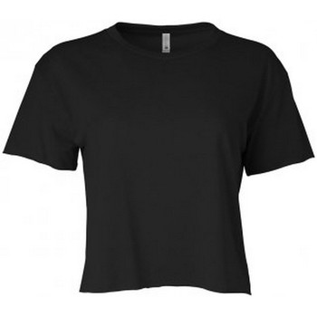Textil Mulher T-Shirt mangas curtas Next Level NX5080 Preto