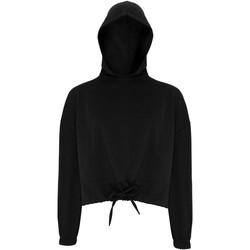 Textil Mulher Sweats Tridri TR085 Preto
