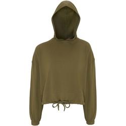 Textil Mulher Sweats Tridri TR085 Verde oliva