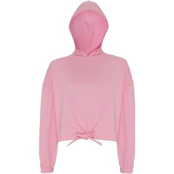 Textil Mulher Sweats Tridri TR085 Rosa claro