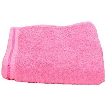 Casa Toalha e luva de banho A&r Towels Taille unique Pink