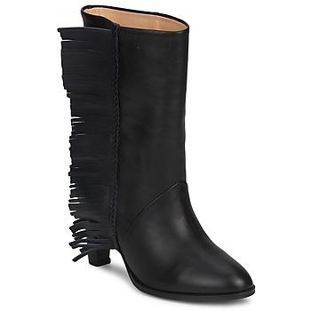 Sapatos Mulher Botas MySuelly GAD Preto