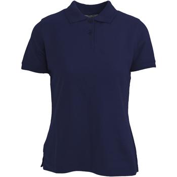 Textil Mulher Polos mangas curta Absolute Apparel  Marinha