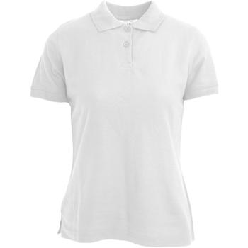 Textil Mulher Polos mangas curta Absolute Apparel  Branco