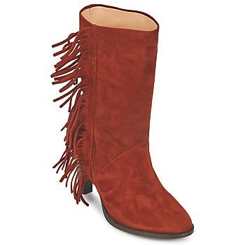 Sapatos Mulher Botas MySuelly GAD Ferrugem