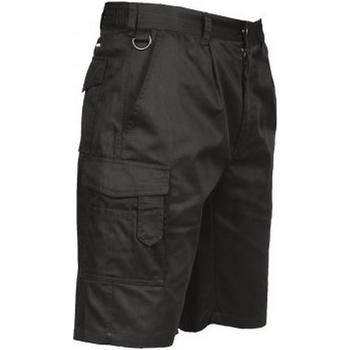Textil Homem Shorts / Bermudas Portwest PW128 Preto